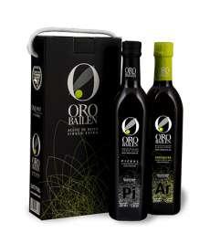 Ekstra djevičansko maslinovo ulje Oro Bailen.Estuche 2 botellas 750 ml.