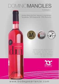 Rosé vino Dominio de Manciles, Rosado